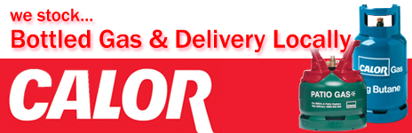 Calor Gas - we stock & deliver locally